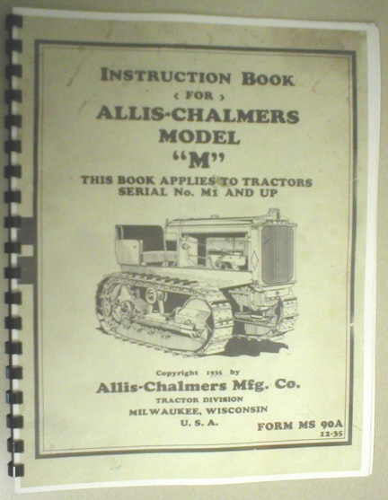 allis chalmers 190xt parts manual